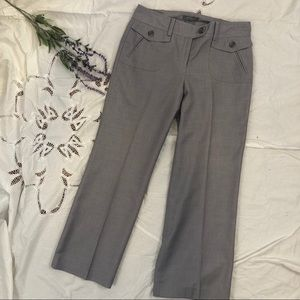 Ann Taylor Factory Signature Fit Grey Trousers 6